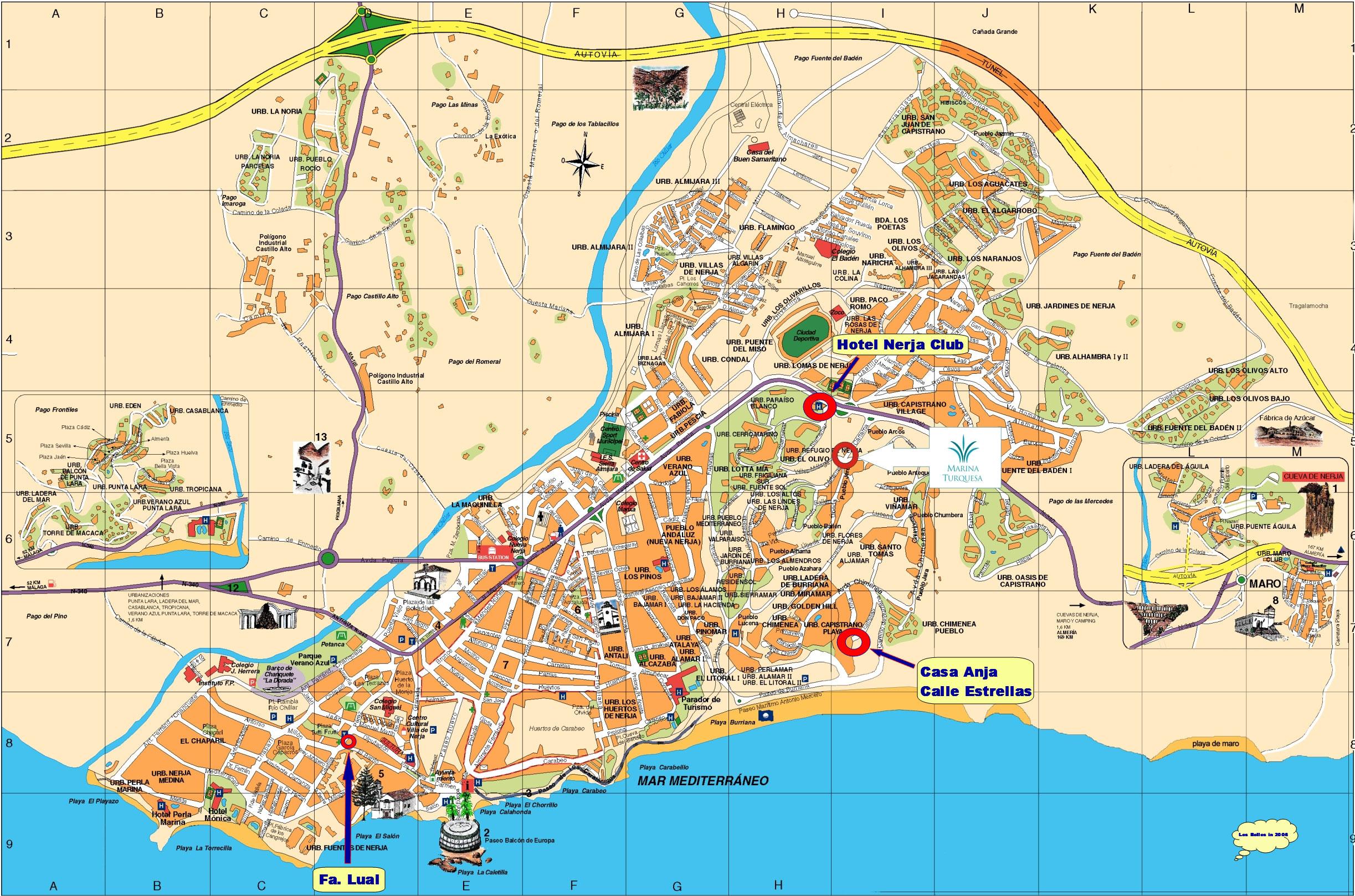 Costa Del Sol Guide Malaga Billeje Info Spanien Guide